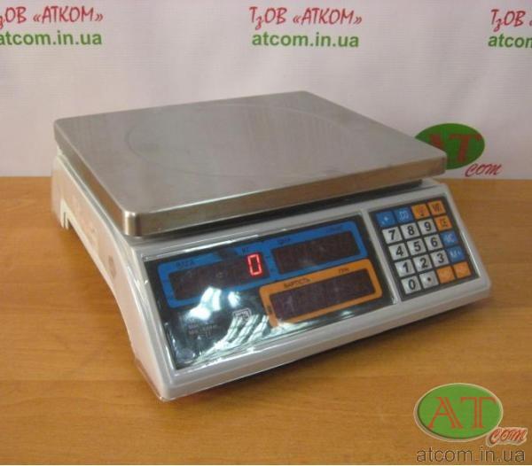 Весы торговые ВТЕ-Центровес-15Т1-ДВ