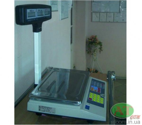Торговые электронные весы ВТА-60/15-5-Т-А
