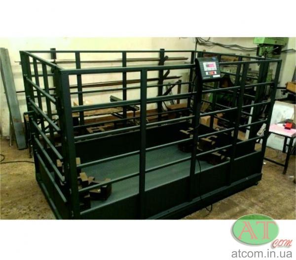 Весы для взвешивания свиней, скота ВН