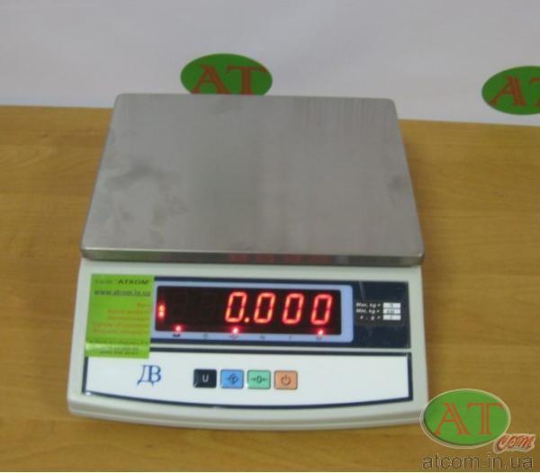 Весы технические ВТЕ-Центровес-15-Т3-ДВ