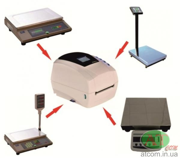 Весы с принтером этикеток, ВМК