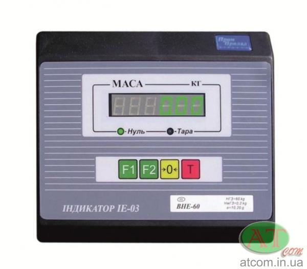 Ваговий термінал-дозатор IE-03-R (з релейним виходом)