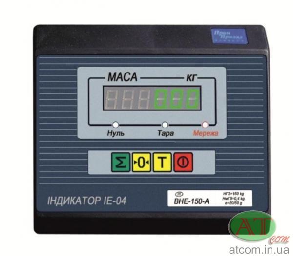 Весовой индикатор IE-04-А (светодиодный)