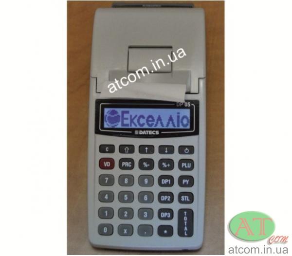 Касовий апарат Екселліо DP-05