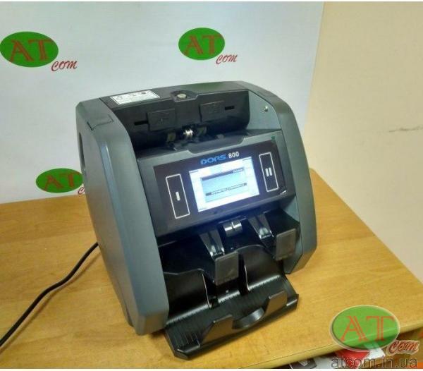 Лічильник грошей DORS 800 мультифункціональний двохкишеньковий